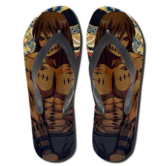 Rogue Ninja Maskless Kakuzu Akatsuki Member Thong Sandals