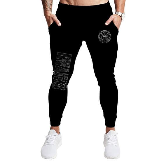 Royal Saiyan Crest Weed Kush Logo Cool Marijuana Sweatpants