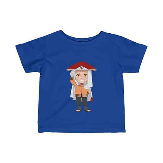 Seventh Hokage Naruto Uzumaki Chibi Art Cool Baby T-Shirt
