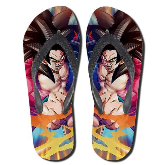 Son Goku SSJ4 Form Dragon Ball GT Amazing Thong Sandals