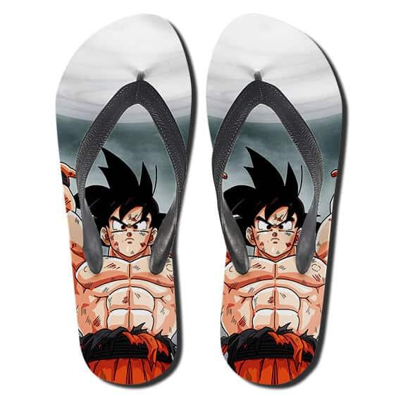 Son Goku's Spirit Bomb Ultimate Attack DBZ Slippers