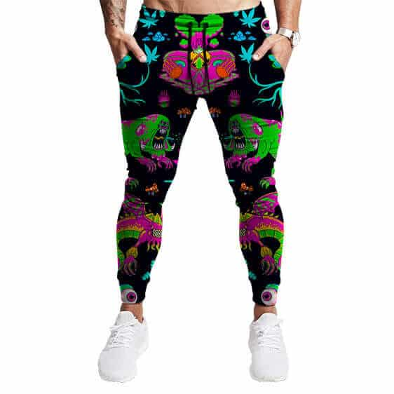 The Adventures Of Rick & Morty Trippy Monsters 420 Joggers