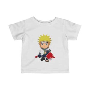 The Fourth Hokage Minato Namikaze Chibi Style Baby T-Shirt