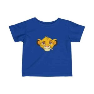 The Lion King Simba Stoned Spoof Parody Baby T-shirt