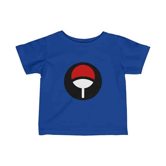 Uchiha Clan Fan-Shaped Symbol Stylish Naruto Baby T-Shirt