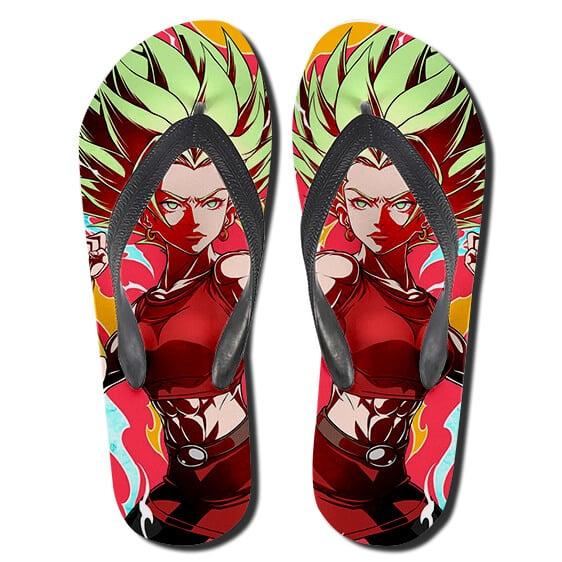 Universe 6 Caulifla Wonderful Art Flip Flop Slippers