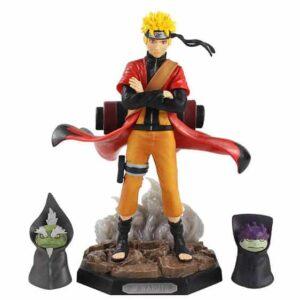 Uzumaki Naruto Sage Mode & Frog Summons Cool Action Figure
