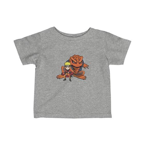 Uzumaki Naruto Sage Mode & Gamabunta Dope Newborn Shirt