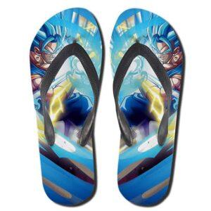 Vegito SSJ Blue Kamehameha Wave Attack Fantastic Slippers