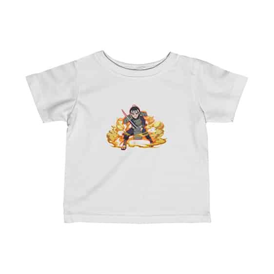 Young Hashirama Senju Flame Artwork Dope Naruto Baby Shirt