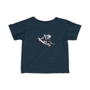 Young Kakashi Hatake Holding Sword Cool Naruto Baby T-Shirt