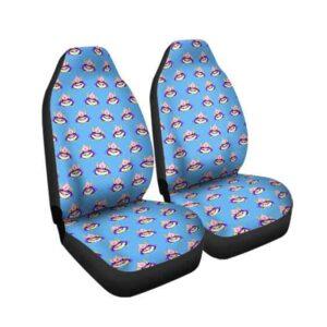 Adorable Fat Majin Buu Pattern Dragon Ball Z Car Seat Cover