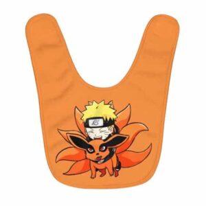 Adorable Naruto Uzumaki Hugging Kurama Chibi Baby Apron