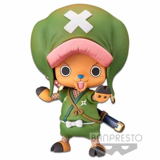 Adorable Tony Chopper Ninja Outfit Wano Kuni Static Figure