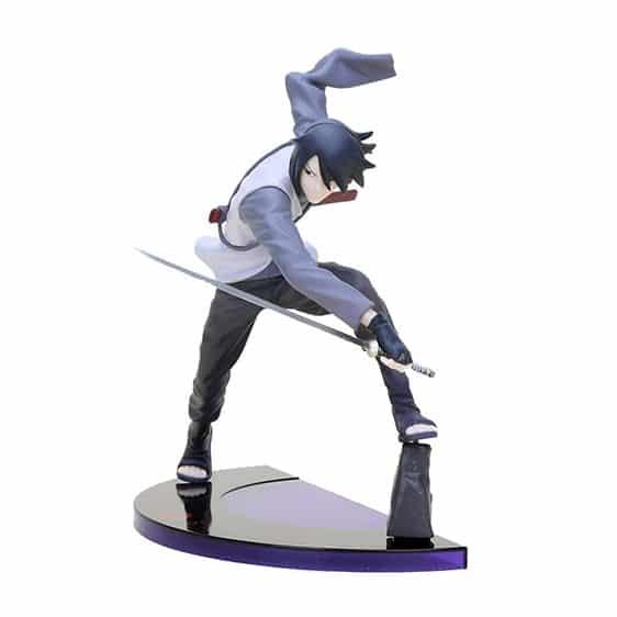 Adult Uchiha Sasuke Battle Stance Dope Action Figure