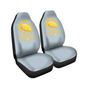 Air Nimbus Dragon Ball Nike Parody Awesome Car Seat Cover