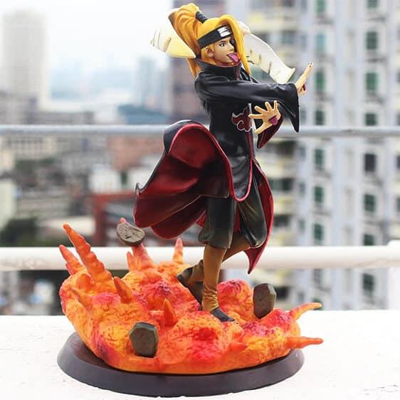 Akatsuki Deidara Explosion Jutsu Epic Naruto Toy Figurine