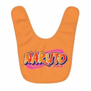 Amazing Naruto Logo Cool Orange Baby Apron