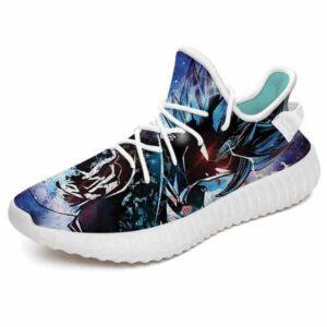Amazing Vegito Livid Aura Silhouette Art Yeezy Shoes
