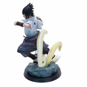 Angry Uchiha Sasuke Battle Pose Badass Static Figure