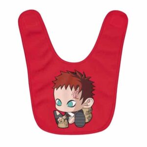 Awesome Baby Gaara Building Sand Castle Red Baby Apron