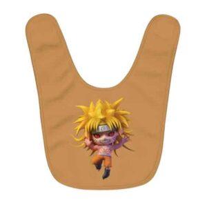 Awesome Naruto Uzumaki Kyuubi Mode 3D Artwork Baby Bib