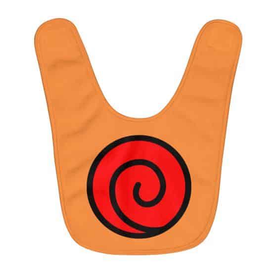 Awesome Uzumaki Clan Emblem Orange Baby Apron