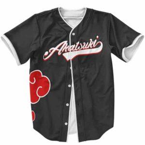 Akatsuki Clouds Itachi Uchiha Amazing Baseball Jersey