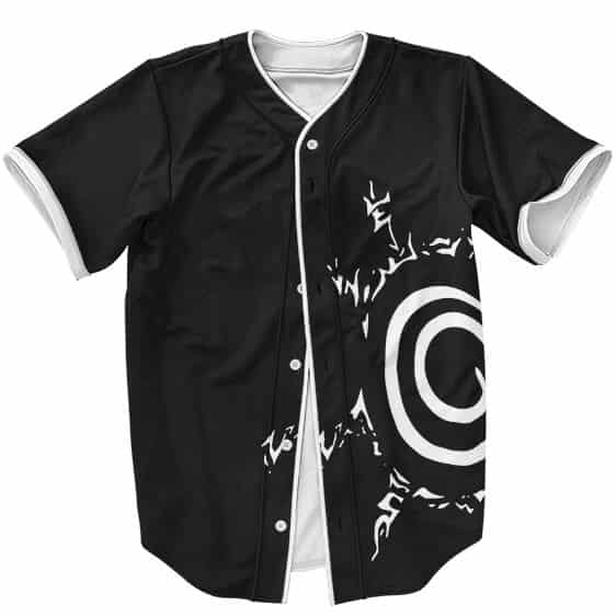 Naruto Eight Trigrams Sealing Style Symbol Baseball Shirt