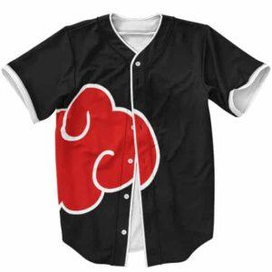 Unsurpassed Akatsuki Group Cloud Logo Baseball Uniform