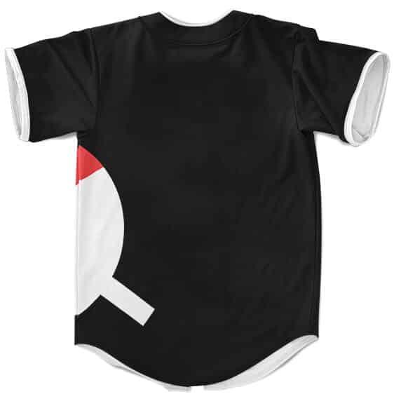 The Powerful Uchiha Clan Logo Black Baseball Uniform