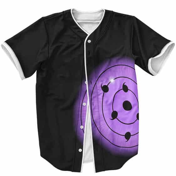 The Most Exalted Dojutsu Rinnegan Eyes Dope Baseball Shirt