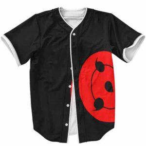 The Great Sharingan Eyes Awesome Baseball Uniform