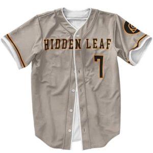 Team Konoha Hidden Leaf Village Naruto Baseball Jersey