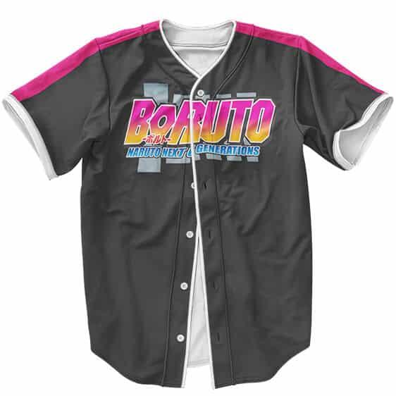 Dope Boruto Uzumaki Logo Cosplay Costume Baseball Shirt