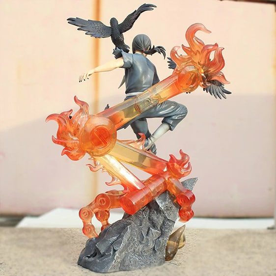 Badass Itachi Uchiha Red Aura Susanoo Naruto Toy Figurine