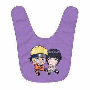 Chibi Naruto Uzumaki And Hinata Hyuga Cute Baby Bib