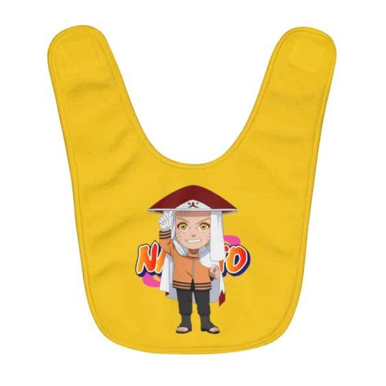 Chibi Naruto Uzumaki Becomes Hokage Amazing Baby Apron