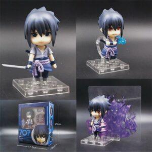 Cool Uchiha Sasuke Chibi Style Movable Pose Toy Figure