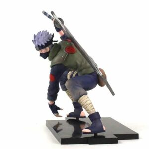 Copy Ninja Kakashi Hatake Wielding Sword Action Figure