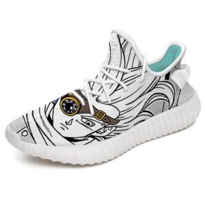 DBS Granolah the Bounty Hunter Amazing White Yeezy Shoes