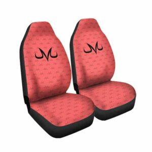 DBZ Babidi Majin Curse Mark Pattern Dope Car Seat Cover