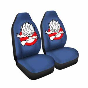 DBZ Gotenks Ghost Buster Parody Cute Car Seat Cover