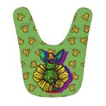 Dope Green Rabbit Smoking Weed Awesome Baby Apron