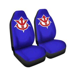 Dragon Ball Royal Saiyan Crest Symbol Epic Car Seat Cover