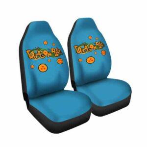Dragon Ball Shenron & Earth Dragon Balls Car Seat Cover