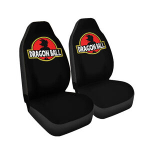 Dragon Ball Son Goku Jurassic Park Parody Car Seat Cover