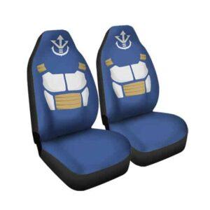 Dragon Ball Vegeta Battle Armor & Crest Car Seat Cover