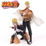 Father & Son Naruto Boruto Uzumaki Action Figure Set