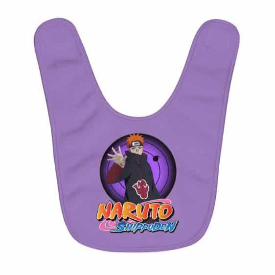 Formidable Ninja Pain Nagato Rinnegan Eye Purple Baby Bib